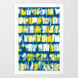 Garage shingles Art Print