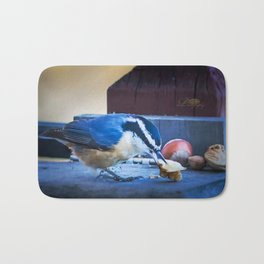 Red Breasted Nuthatch Bath Mat