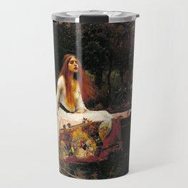 The Lady of Shalott - John William Waterhouse Travel Mug
