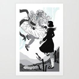 Magical Girls Art Print