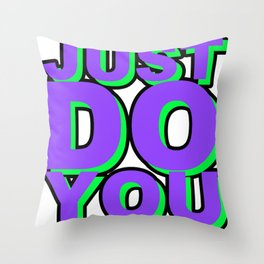 JDYW Throw Pillow