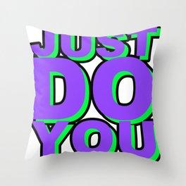 JDYW Throw Pillow