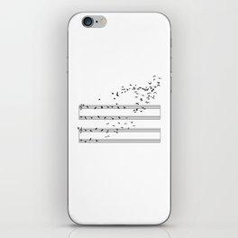 Natural Musical Notes iPhone Skin