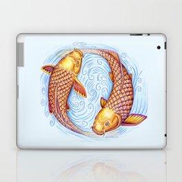 Pisces Fish Yin Yang Mandala Laptop & iPad Skin