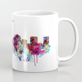 Madison Skyline Silhouette Coffee Mug