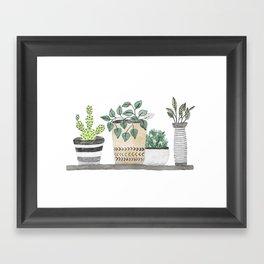 Plants 1 Framed Art Print