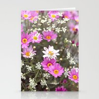 daisy Stationery Cards featuring Daisy by LebensART Photography