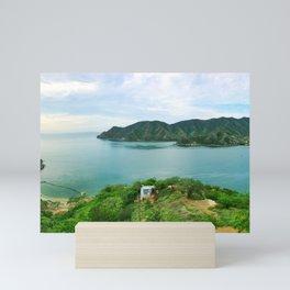 Taganga Bay 2 Mini Art Print