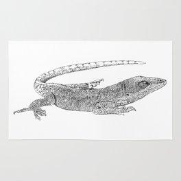 lizard 2 Rug