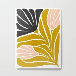 Enid Floral Metal Print