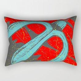Trident 3 Rectangular Pillow