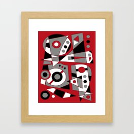 Abstract #979 Framed Art Print