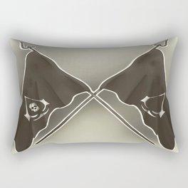 Assassins Creed Flags Rectangular Pillow