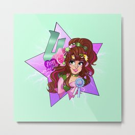 decora senshi sailor jupiter Metal Print
