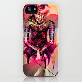 Dissolved Girl iPhone Case