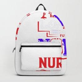 Nursing Degree Loading - Nurse Design Backpack