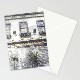 The Mayflower Pub London Snow Stationery Cards