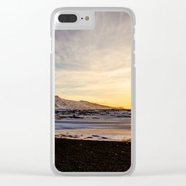 Snaefellsnes- Sunset Clear iPhone Case