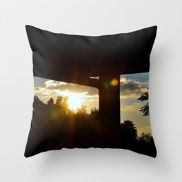 Lighting I Throw Pillow