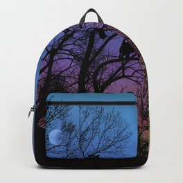 Night Wisdom -Colorful Backpack