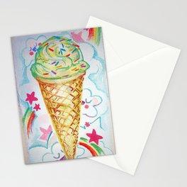 Rainbow Licks Stationery Cards