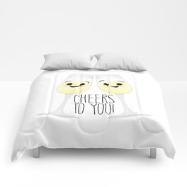 Cheers To You! Champagne Comforters