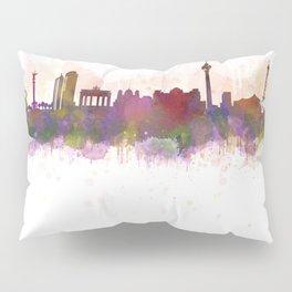 Berlin City Skyline HQ1 Pillow Sham