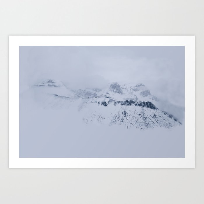 There Hides Giants Art Print