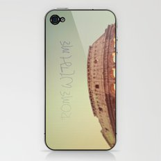 Rome With Me iPhone & iPod Skin