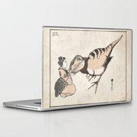 bouletcorp Laptop & iPad Skins featuring Geisha & Baby T-Rex by Bouletcorp