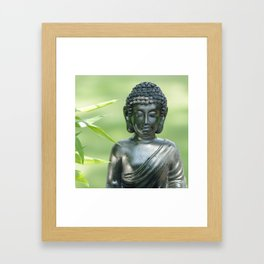 Find Buddha calm Framed Art Print