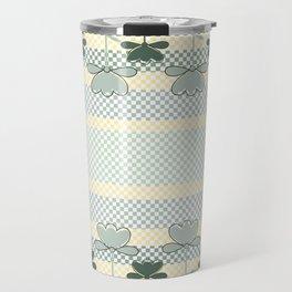 Checkered Spring Travel Mug