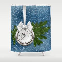 Christmas decoration Shower Curtain