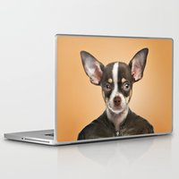 chihuahua Laptop & iPad Skins featuring Chihuahua  by Life on White Creative