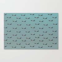 planes Canvas Prints featuring Planes by Oscar Lagunah