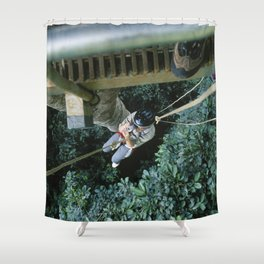 Almost Killed my Wife in Costa Rican Jungles Shower Curtain