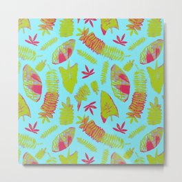 Tropical Plants Metal Print