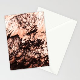 Copper Lava Stationery Cards