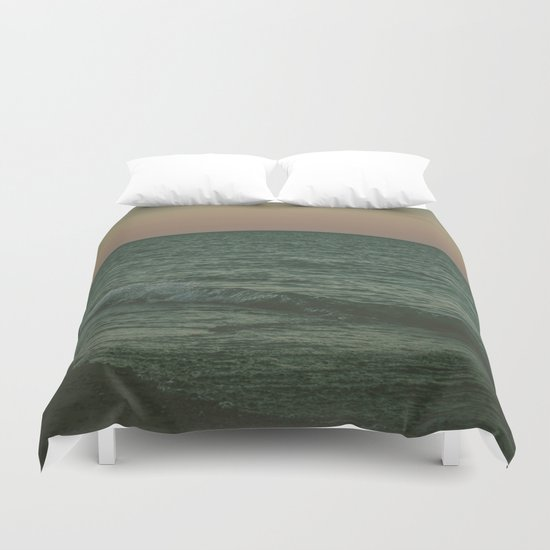 Disappear Into The Deep Duvet Cover