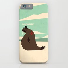 W is for walrus iPhone 6s Slim Case