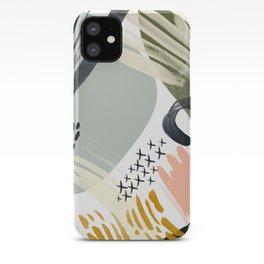 Abstract autumn season iPhone Case