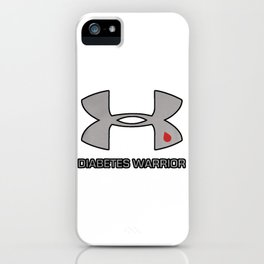 Diabetes Warrior iPhone Case