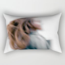 Walking women Rectangular Pillow