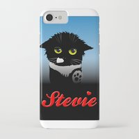 stevie nicks iPhone & iPod Cases featuring Stevie by Mike Halliday