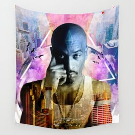 Rakim TheGod MC Wall Tapestry