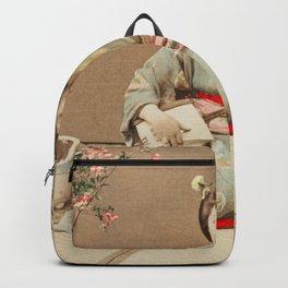 Ogawa Kazumasa - Geisha Playing Samisen Backpack