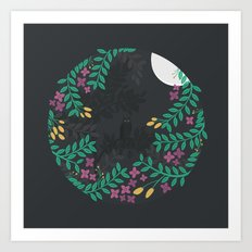 Quiet Night Art Print