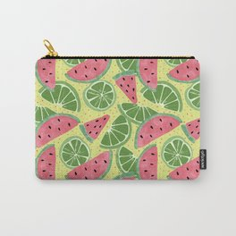 Watermelon Limeade Pattern Carry-All Pouch