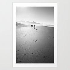 Beach Combers Art Print