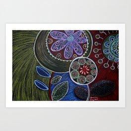 Miles Away Art Print